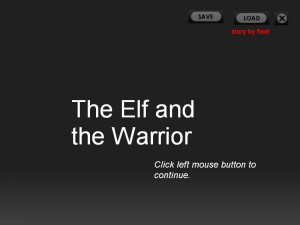 The Elf and the Warrior PG13 screenshot